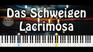 Lacrimosa - Das Schweigen Piano Cover