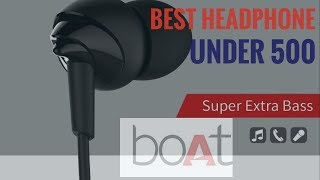 Best headphone under 500 RS in hindi ll boat headphone unboxing and review in Hindi ll