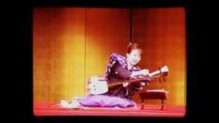 櫓太鼓曲弾き~田中悠美子 Yagura-drum Gidayu-shamisen performance by Yumiko Tanaka