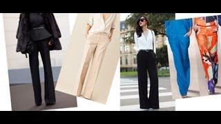 Шитье. Модуль №7.  Конструирование, моделирование и пошив классических женских брюк