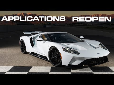Here's why Ford's GT application process is the BEST way to allocate a supercar
