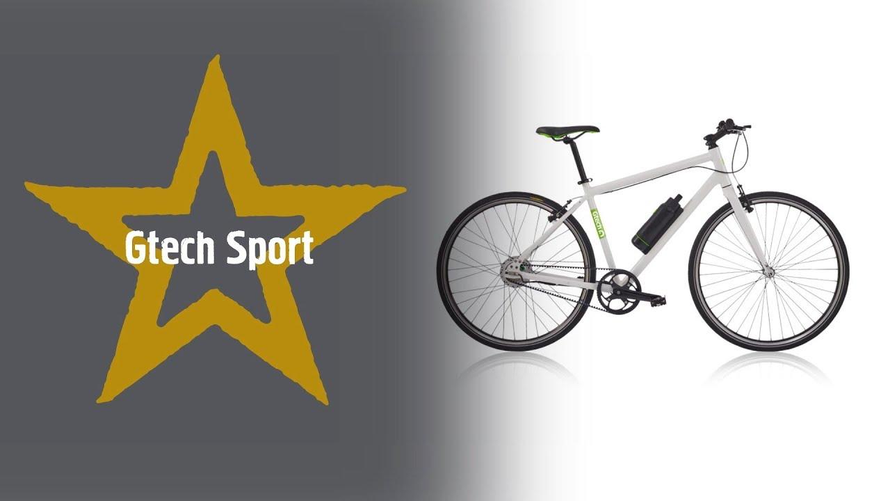 5986f780545 Gtech Sport Electric Hybrid Bike - YouTube