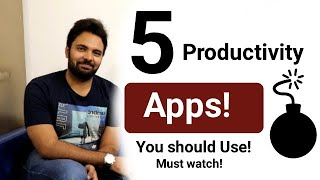 Best Top 5 Productive Android Apps To Enhance Your Productivity | Must Watch