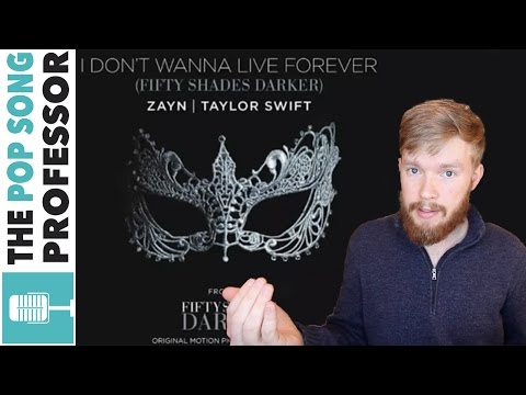 Taylor Swift  amp  ZAYN - I Don  39 t Wanna Live Forever   Song Lyrics Meaning Explanation Poster