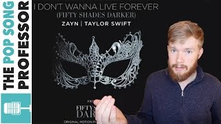 taylor swift zayn i don t wanna live forever   song lyrics meaning explanation