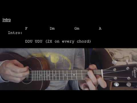 Chords For Joji Slow Dancing In The Dark Easy Ukulele Tutorial