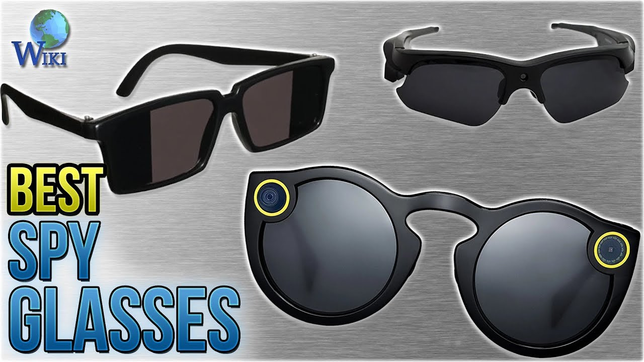 869d42e153 7 Best Spy Glasses 2018 - YouTube