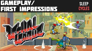 Lethal League (PC) - Gameplay/First Impressions!