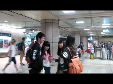 MRT taipei clean and clear