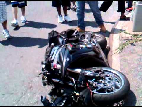 """Rochester & Atlantic Ave. Brookyn New York. """"WARNING""""  GRAPHIC CONTENT Riding in Brooklyn is crazy."""