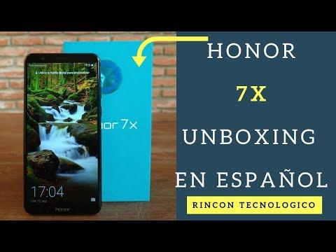 HONOR 7X - Características/Unboxing - Bolivia