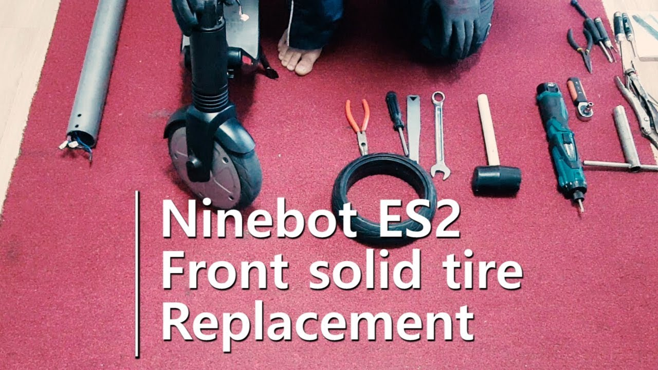 Segway ninebot es2 tyre replacement - Scooter Talk