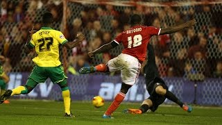 Highlights: Forest 2-1 Norwich (08.11.14)