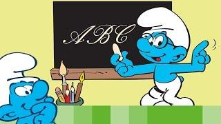 Kijk Zing mee het Smurfen ABC filmpje