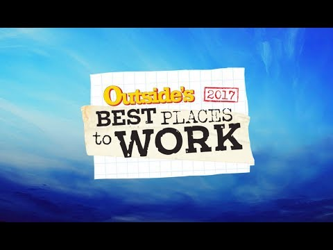 Hailey Sault - An Outside Magazine Best Place to Work 2017