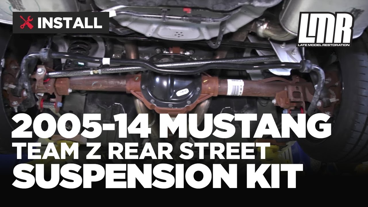 2005-2014 Mustang Team Z Rear Street Suspension Kit - Review & Install