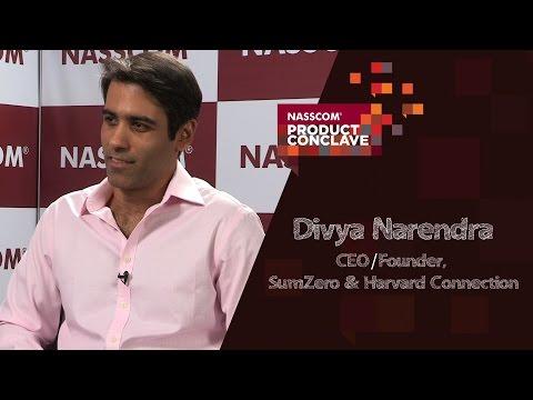 Divya Narendra, CEO/Founder, Sumzero & Harvard Connection