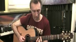 "This is my acoustic guitar arrangement for ""I say a little prayer"""