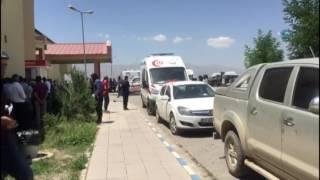 Hakkari'de Askeri Konvoyun Geçişi Sırasında Patlama