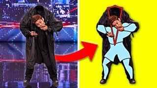 5 Magic Tricks of America's Got Talent Revealed