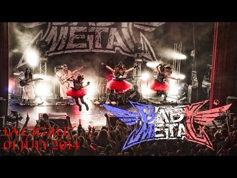 BABYMETAL - Paris 2014 (Including lot of songs & POV wall of death) HD