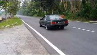 Proton Saga V8 Engine Acceleration