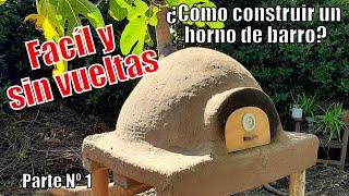 """¿Cómo hacer un sencillo Horno de Barro con materiales reciclados? """"El Rincón del Soguero"""""""