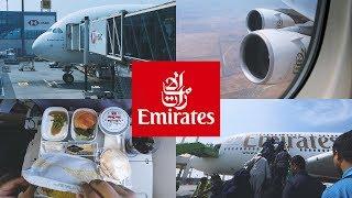 Emirates Airbus A380 Jeddah to Dubai   طيران الإمارات جدة إلى دبي