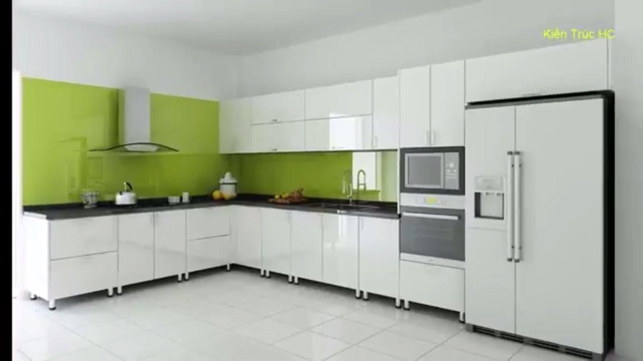 Tủ Bếp Đẹp Hiện Đại Gỗ Công Nghiệp (NT)