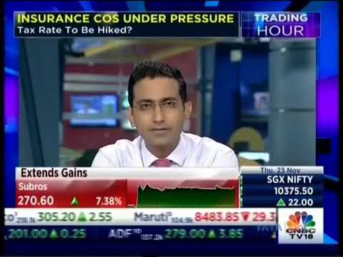 Mr Arijit Basu, MD & CEO, SBI Life Insurance in conversation with CNBC TV 18