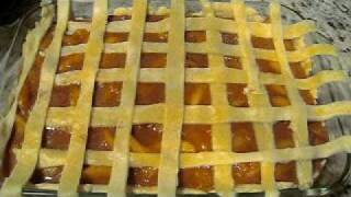 Peach Cobbler (double Crust)