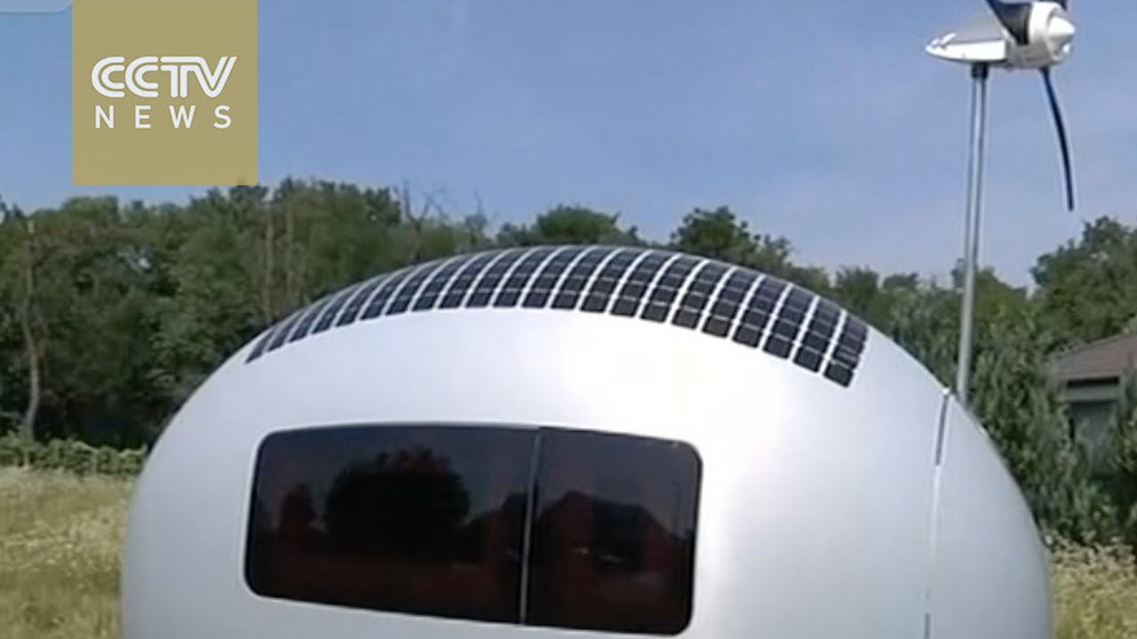 Slovak architects design self-sustaining mobile home - YouTube