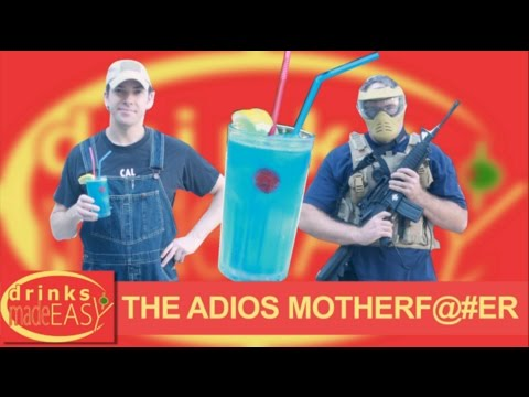 How To Make An Adios Motherfucker   Drinks Made Easy