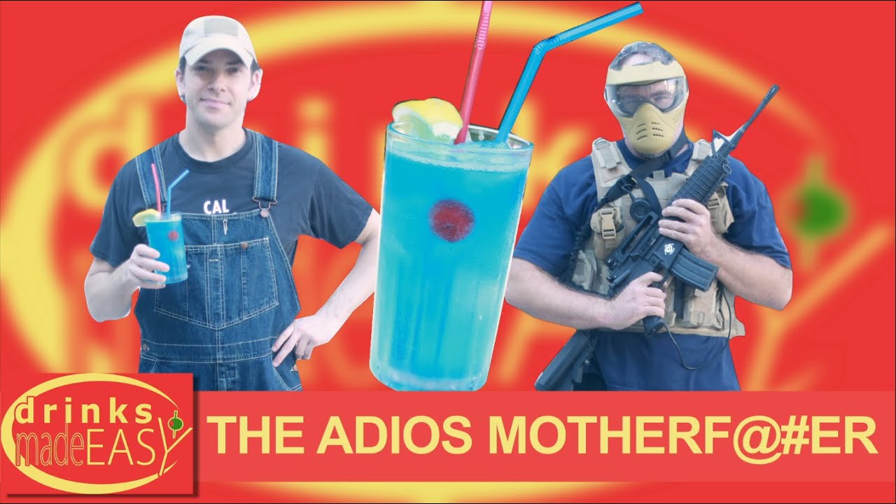 How To Make An Adios Motherfucker | Drinks Made Easy