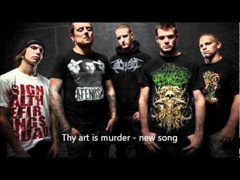 Thy art is murder NEW SONG 2011 DEMO QUALITY Infinite forms