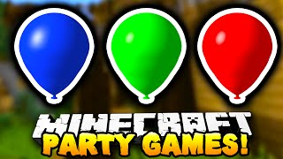 "Minecraft - PARTY GAMES #2! ""THE SQUAD!"" - w/Preston, Kenny & Choco!"