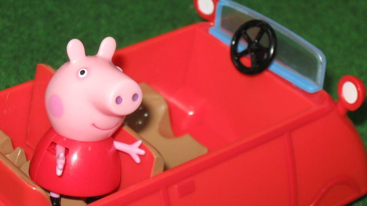 Peppa Pig Car Bandai  Juguetes de Peppa Pig  YouTube