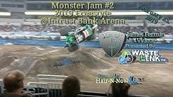 Monster Jam #2, Freestyle, Intrust Bank Arena, 02/23/19