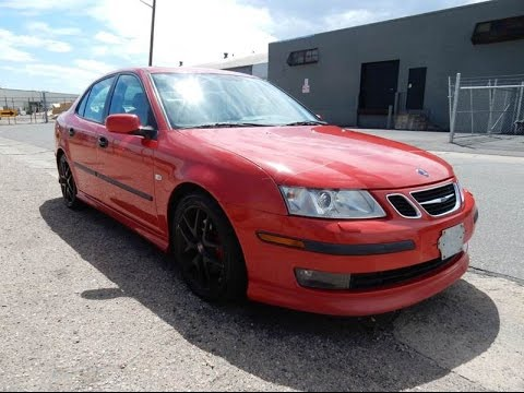 2003 Saab 9 3 Vector 6 Sd Turbo Sedan For