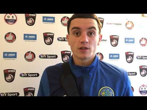 Ollie Norburn discusses reaching the FA Trophy final
