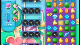 Candy Crush Soda Saga Level 1143 No Boosters