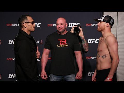 UFC 249: Weigh-in Faceoffs
