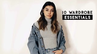 10 Closet essentials every girl NEEDS
