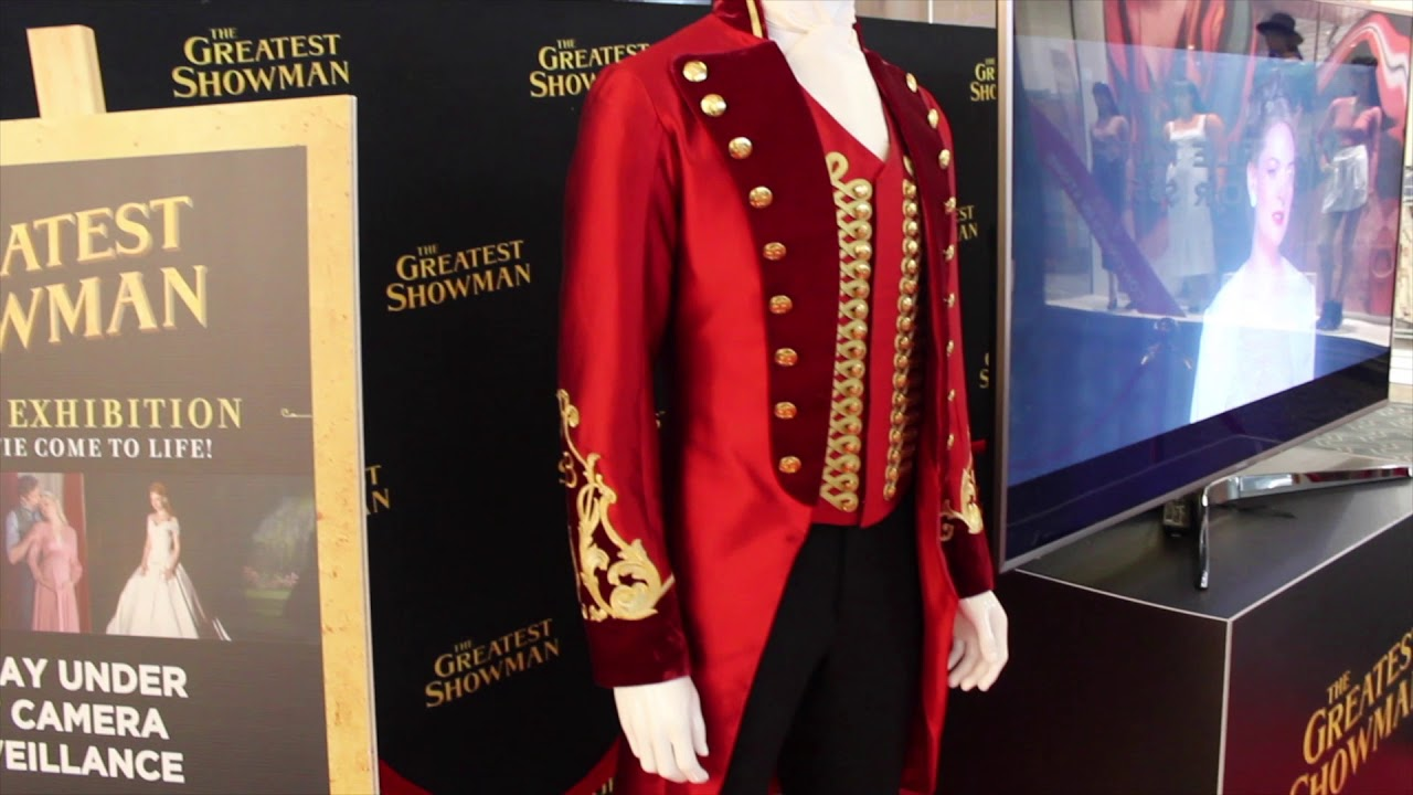 The Greatest Showman Costume Display Pt Barnum Youtube