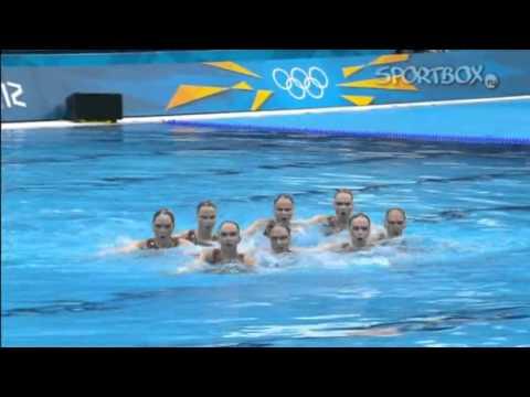 Синхронное плавание, сборная России. Лондон 2012
