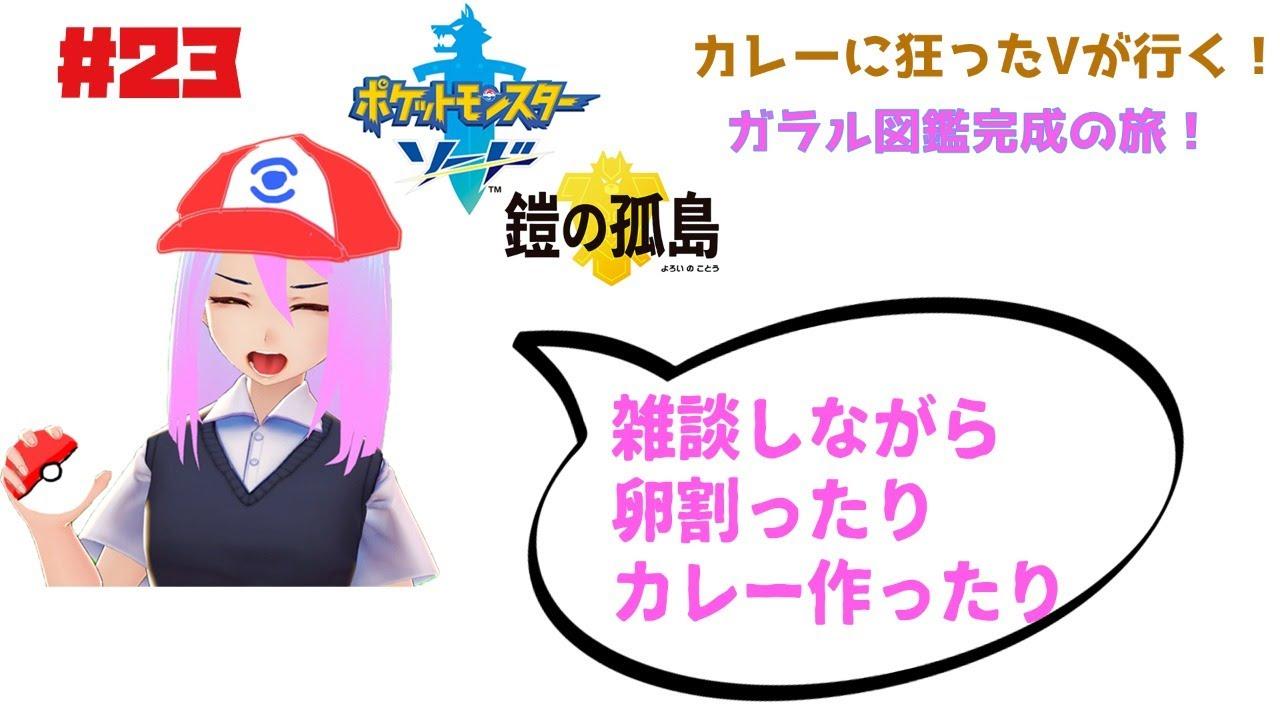 【ポケモンソード】初めての雑談とポケモン図鑑【春ノ雨】
