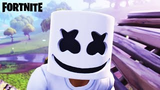 FORTNITE - APARECEU O MARSHMELLO no FORTNITE!!! FINALMENTE