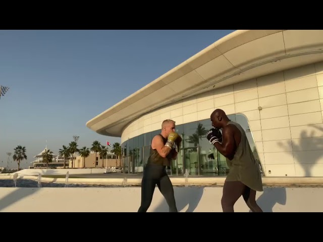 Behind the Scenes On UFC Fight Island