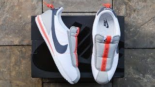 NIKE CORTEZ BASIC SLIP x KENDRICK LAMAR | unboxing - overview & on-feet!!