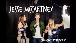 JESSE MCCARTNEY REMINISCES ABOUT DISNEY & SHARES ABOUT TAKING TIME OFF FROM MUSIC